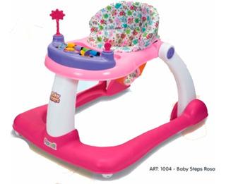 Andador Y Caminador Rondi 2 En 1 Baby Steps Babymovil