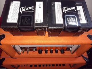 Captador Gibson Pickups Signature Livebucker Conjunto