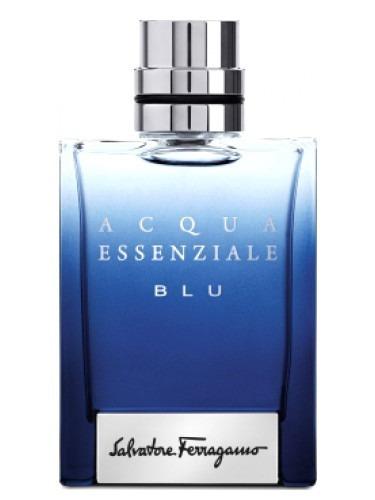 Perfume S. Ferragamo Acqua Essenziale Blu 50 Ml (usado)