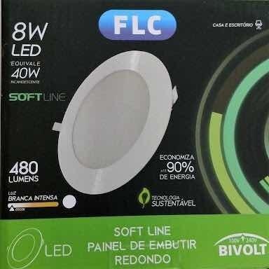 Luminaria Embutir Flc - Softline - 8w