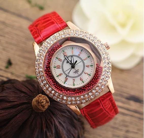 Relógios De Quartzo Pulseira De Couro Feminino Barato Novo