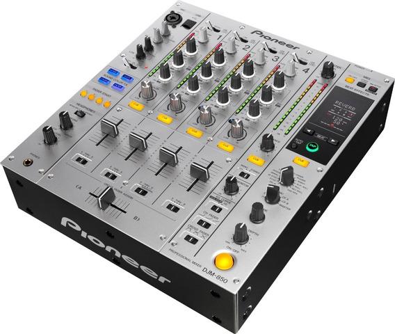 Mixer Djm 850 Pioneer C/ Saida Audio Digital Pro Dj C/ Nf