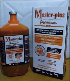 Master Plus Anabolizante Bovinos E Equinos