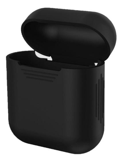 Capa Silicone Case Fones AirPods Apple - Várias Cores