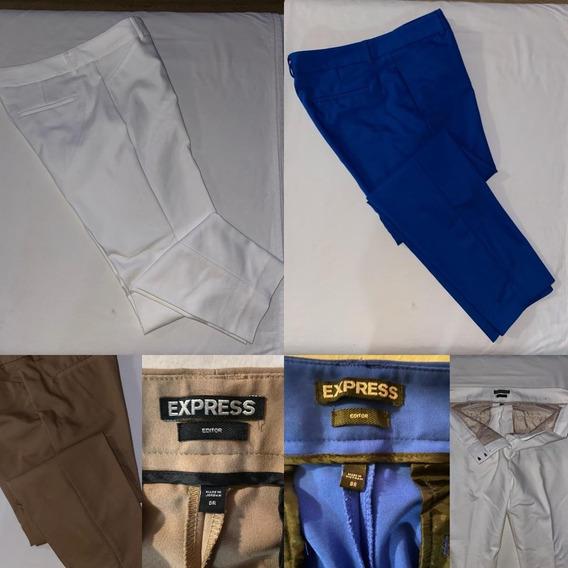 Pantalones Damas De Vestir Marca Express Importados