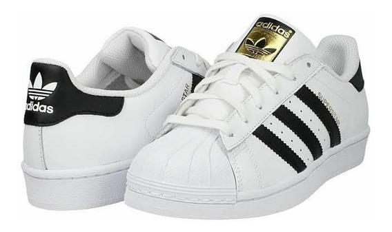 Tenis adidas Superstar Clasico Estilo Concha Unisex