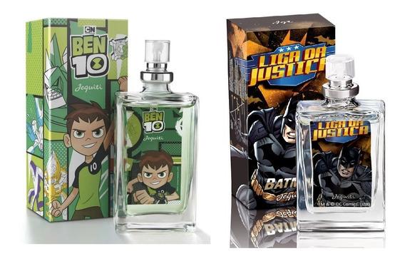 Ben 10 + Liga Da Justiça Batman Des Colônia 25ml + Cupons J