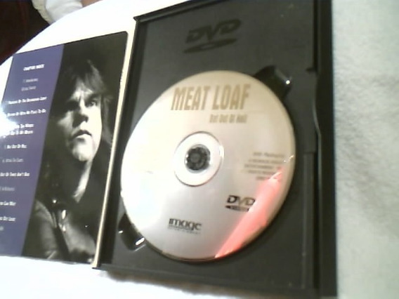 Dvd ( Meat Loaf ) Bat Out Of Hell - 1999