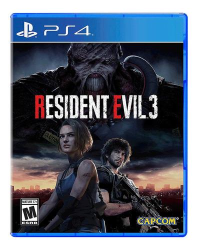 Resident Evil 3 Ps4 Fisico Nuevo Sellado Playstation 4