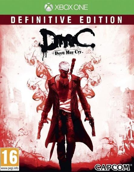 Dmc Devil May Cry: Definitive Edition Mídia Digital Xbox One