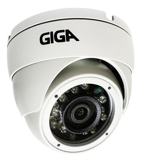 Câmera De Segurança Dome Giga Sony Starvis 2mb 1080p Ir Wdr 30m Ip66 4mm