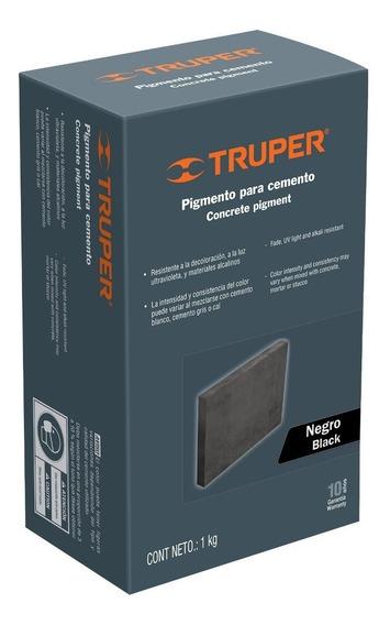 Pigmento Para Cemento 1 Kg Negro Truper 18072