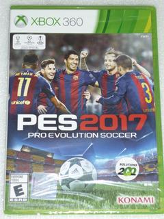 Pes 2017 Xbox 360 Nuevo Original Sellado 100% Jugabilidad