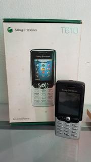 Celular Sony Ericsson T610 Na Caixa - Coleção