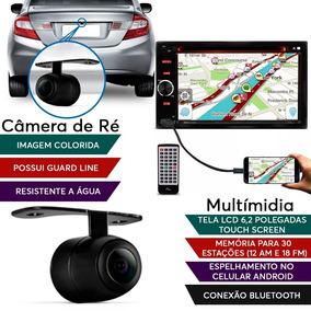 Kit Central Multimídia Veloster Evolve Light + Câmera De Ré