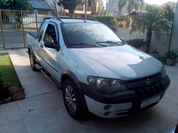 Fiat Strada 2005 1.8 Adventure Ce Flex 2p