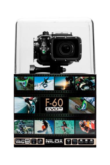 Câmera De Ação F-60 Evo - Nilox