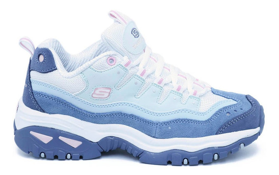 Tenis Skechers Energy-sunnywaves Blanco