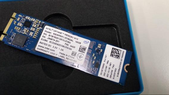 Memoria Ssd Intel Optane M.2 2280 16gb Pci-e 80mm