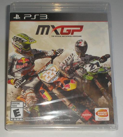 Mxgp The Oficial Motocross Videogame Ps3 Mídiafisíca Lacrado