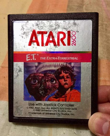 E.t Extra Terrestrial. Original Atari2600