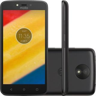 Smartphone Motorola Moto C 1ram 8gb Tela 5.0 3g Dual Preto