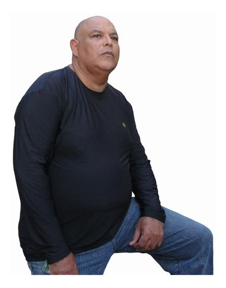 Camisa Térmica Segunda Pele Proteção Uva E Uvb -até 190 Kg.