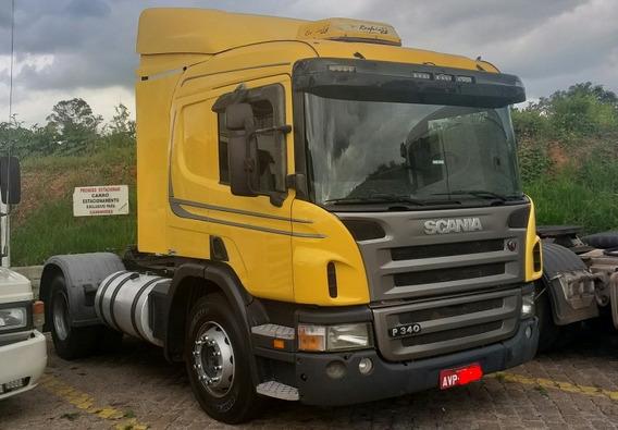 Scania P 340 4x2 6 Pneus Novos + A/c - P340 P94 360 P360 330