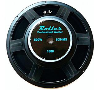 Parlante Woofer Roller 18 Pulgadas 800w