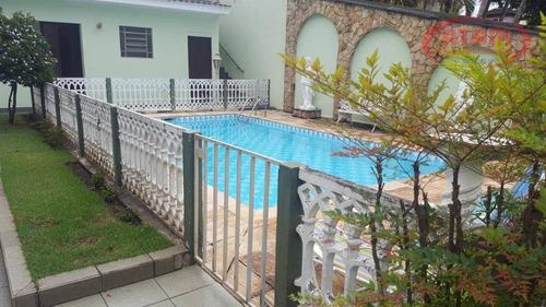Jd. Floresta - Térrea 3 Suites/piscina/quintal/pomar - Ca0727