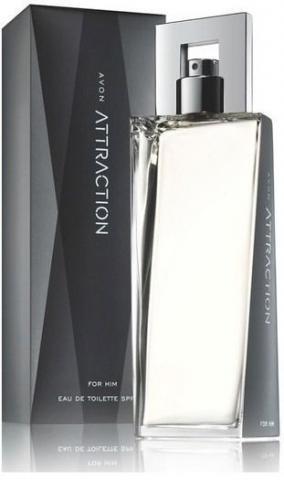 Perfume Avon Attraction Masculino 75 Ml