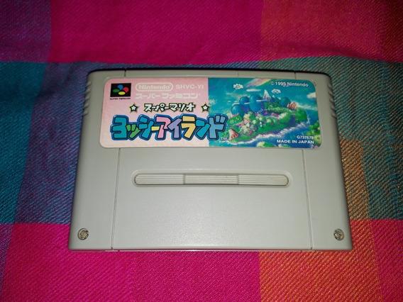 Super Mário World 2 Yoshi Island Original Super Famicom