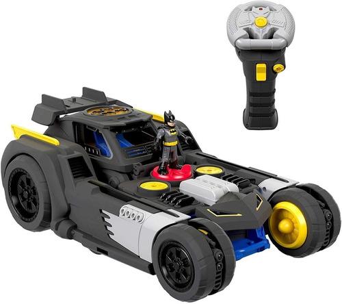 Imagen 1 de 10 de Batimovil Carro De Batman Transformable R/c Control Remoto