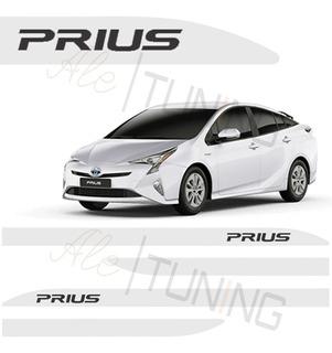 X Jogo De Friso Lateral Toyota Prius - Todas As Cores