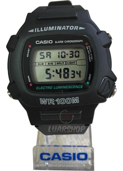 Relógio Casio Digital W740-1vs Masculino Original C Caixa Nf