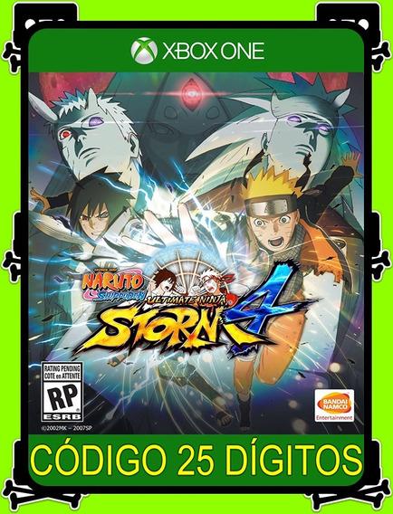 Naruto Ultimate Ninja Storm 4 Xbox - 100% Original (25 Dígitos)