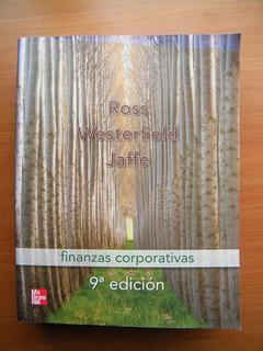 Finanzas Corporativas, Ross, Westerfield Y Jaffe