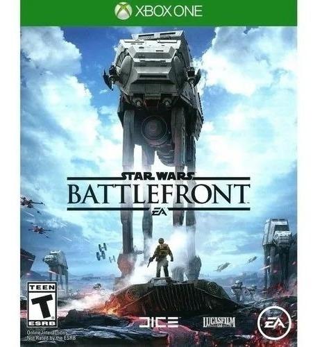 Imagen 1 de 1 de Star Wars Battlefront Xbox One Fisico Sellado