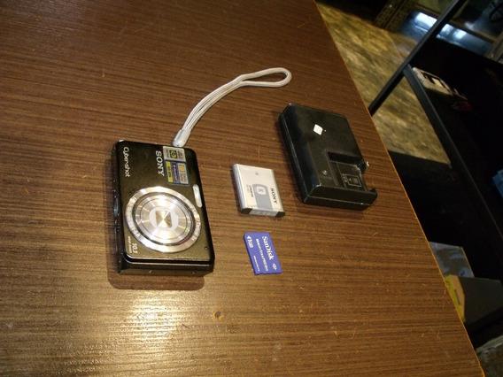 Camera Sony W180 Preta