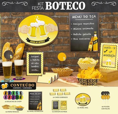 Kit Festa No Boteco Happy Day Decoração