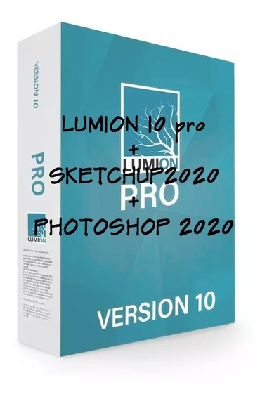 Lumion 10pro + Sketchup 2020 + Photoshop 2020
