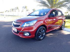 Chevrolet Agile Ltz Effect 1.4 8v Flexpower Vermelho 2014