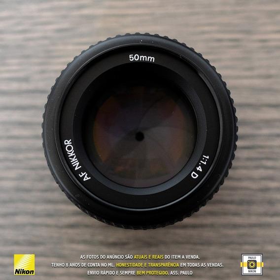 Lente Nikon Nikkor 1.4d - Usada