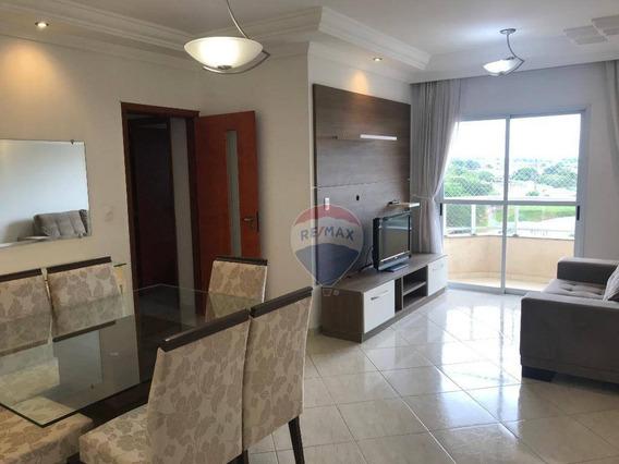Apartamento Mobiliado Com 3 Dormitórios Para Locação No Centro De Nova Odessa/spã - Ap0205