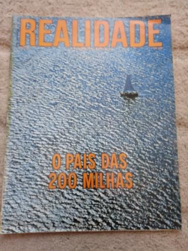 Revista Realidade Nº 73 -de 1972 . Politica Prop. Sumario