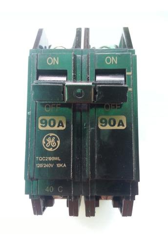 Breaker 2x90a Tqc Hqc Thqc Superficial General Eléctric