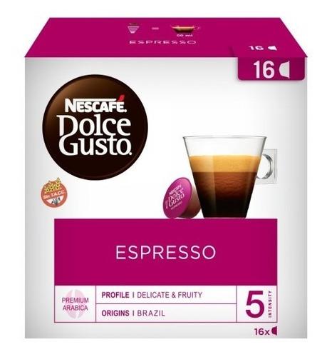 Capsulas Dolce Gusto Café Espresso Nescafe X16 Hiperofertas