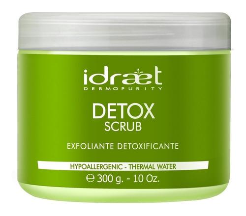 Imagen 1 de 10 de Detox Scrub Exfoliante Oxigenante Renueva La Piel  Idraet