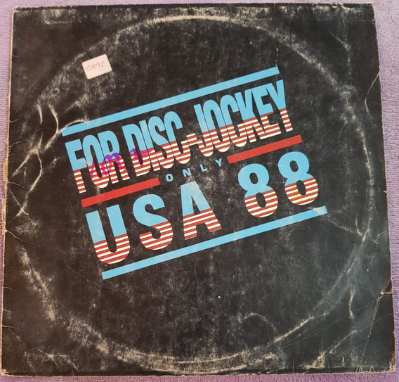 Various - For Disc-jockey Only Usa 88 (kfpvinilos) (mb)