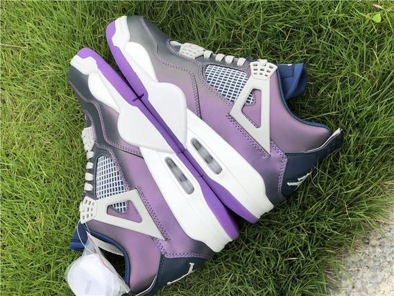 Zapatillas Nike Air Jordan 4monsoon Blue 36 A 47